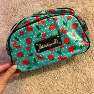 Strawberry and cherry teal betseyville bag